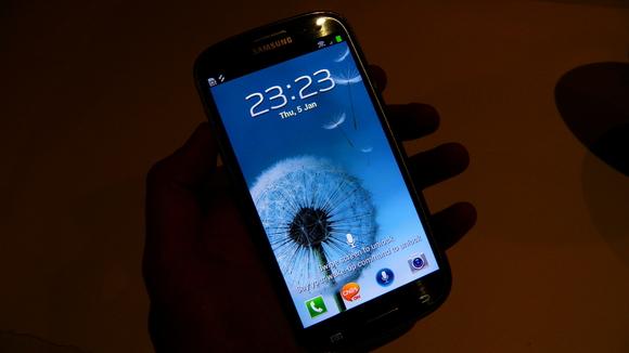Galaxy S3 screen