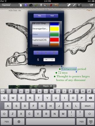 PaperDesk Lite for iPad