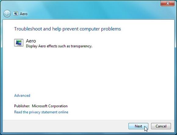 Windows 7 aero